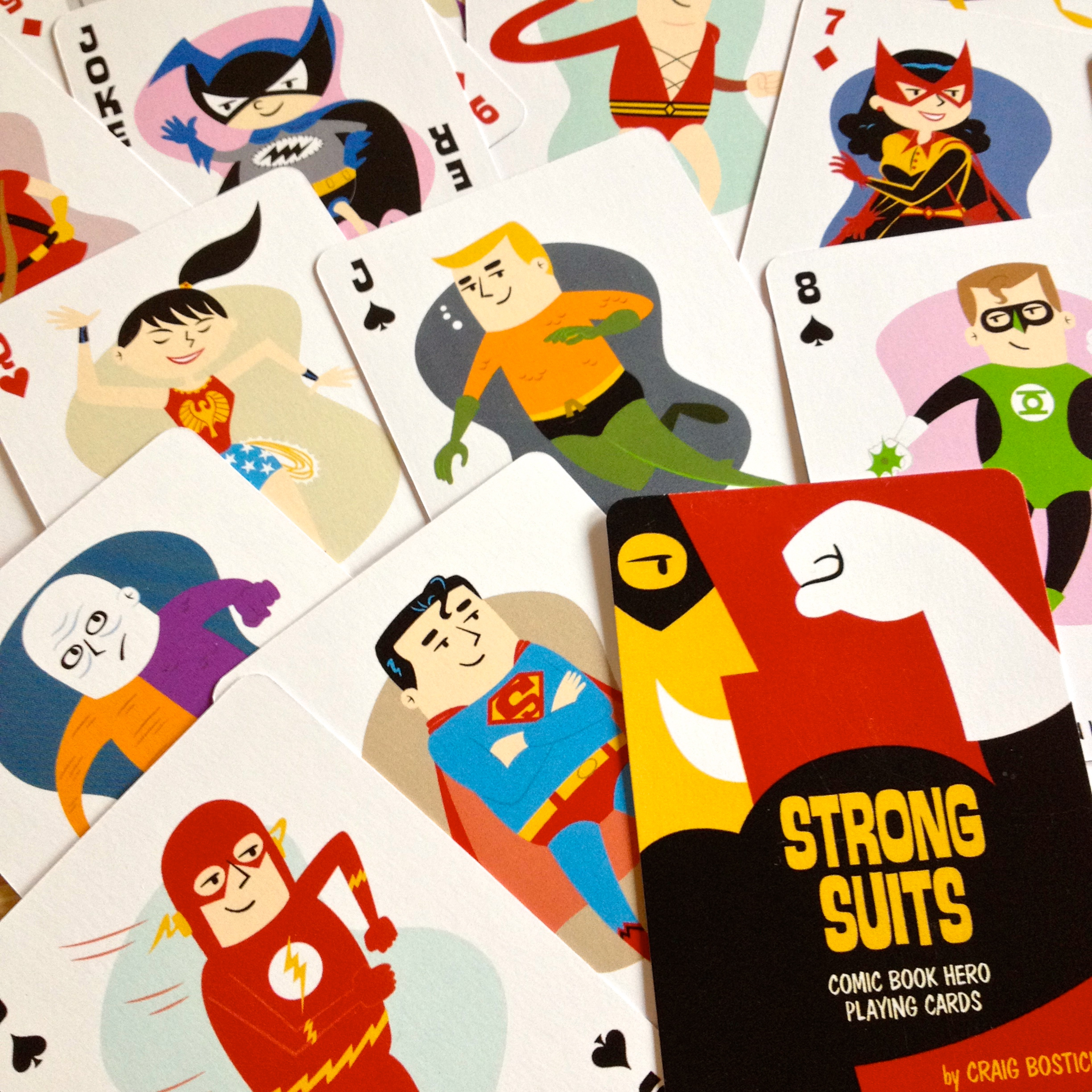 Strong Suits playing cards