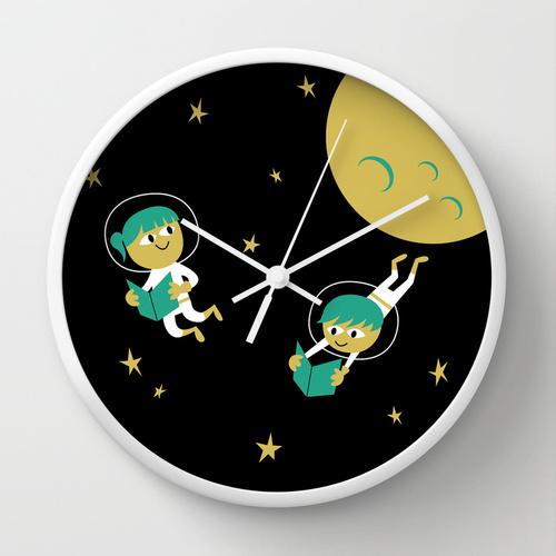 Reading Astronauts Clock