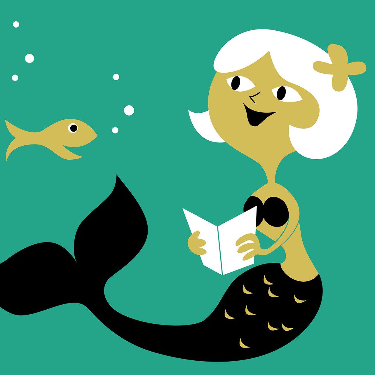Reading Mermaid