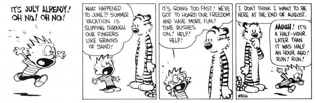 Calvin and Hobbes - July